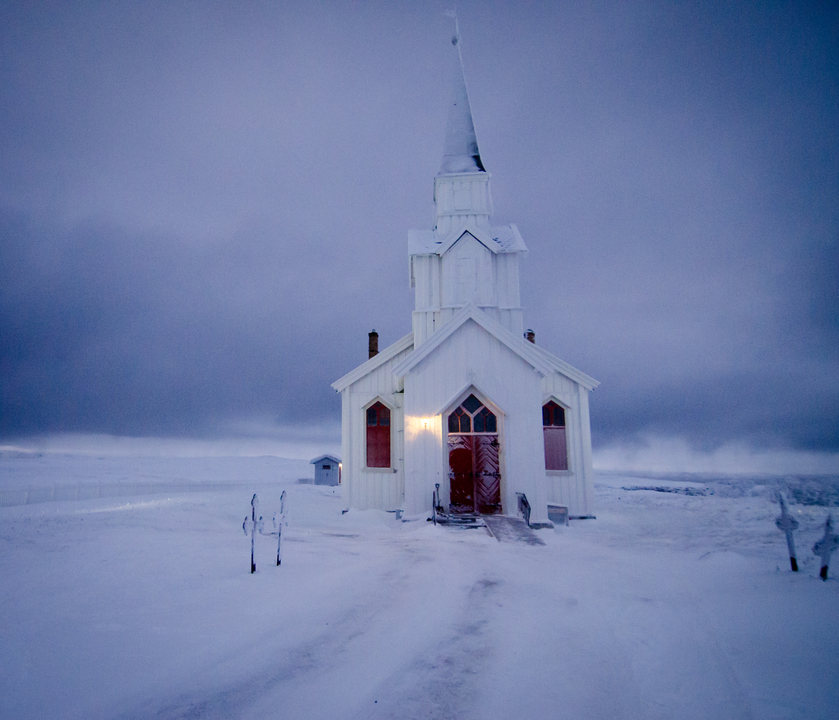 Lone Church at the End of the world