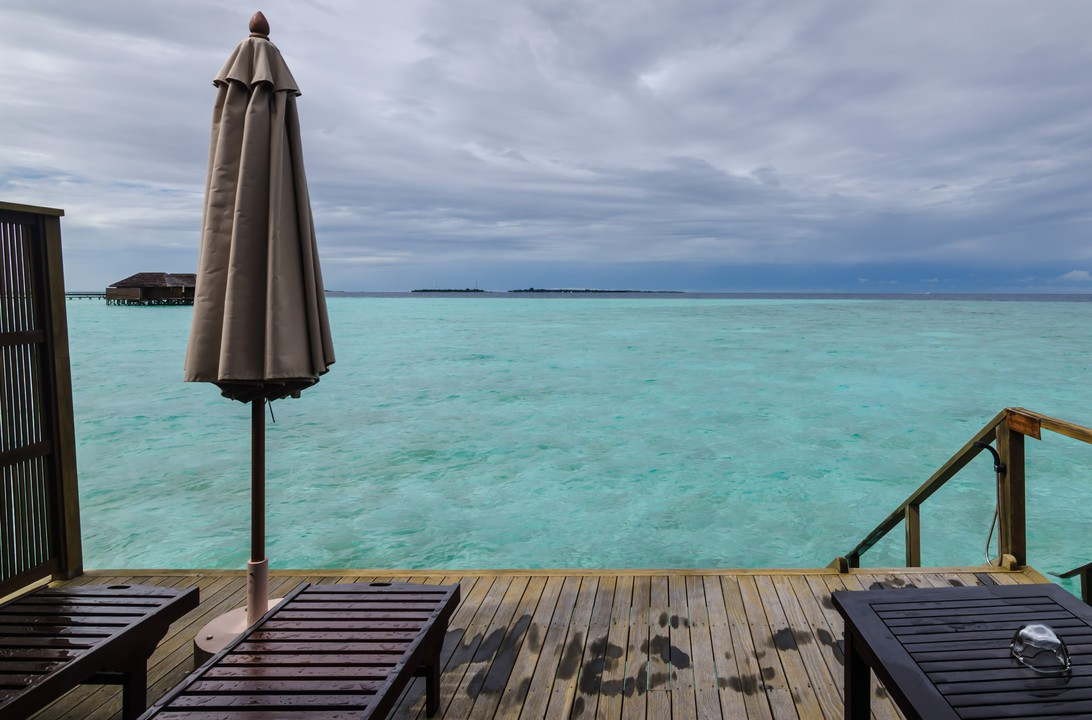 Snorkeling, Jacuzzi and Fish watching in Maldives