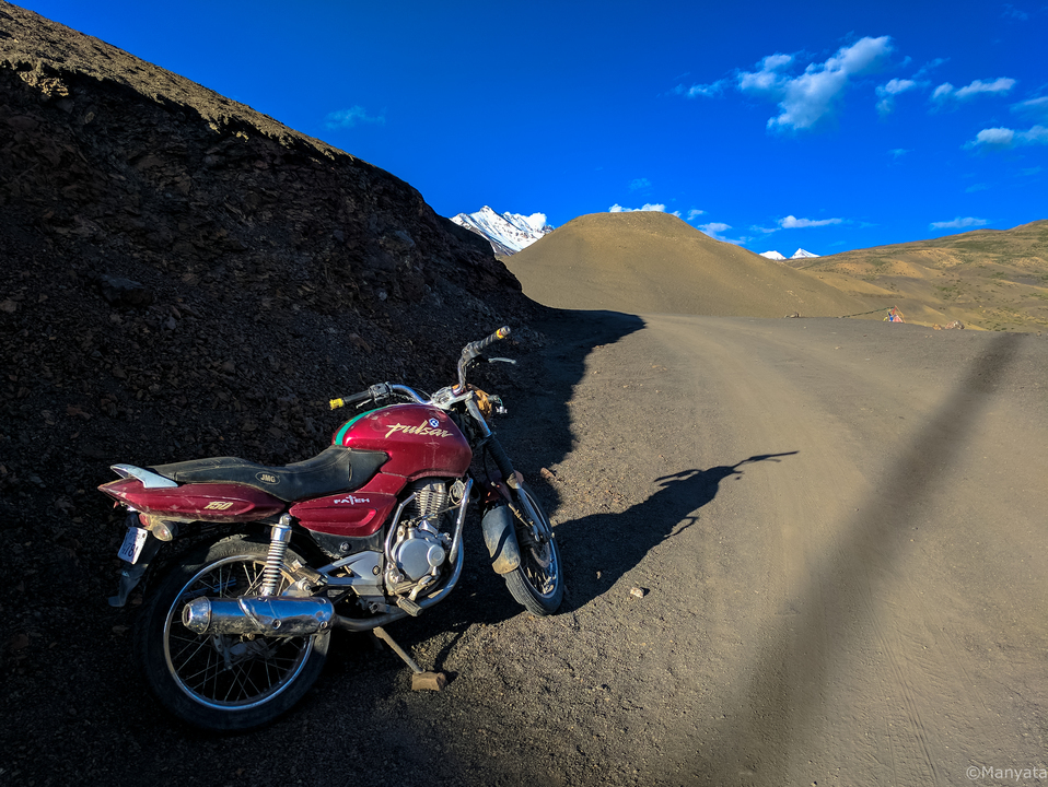Off the beaten path - Blue skies and dirt roads!