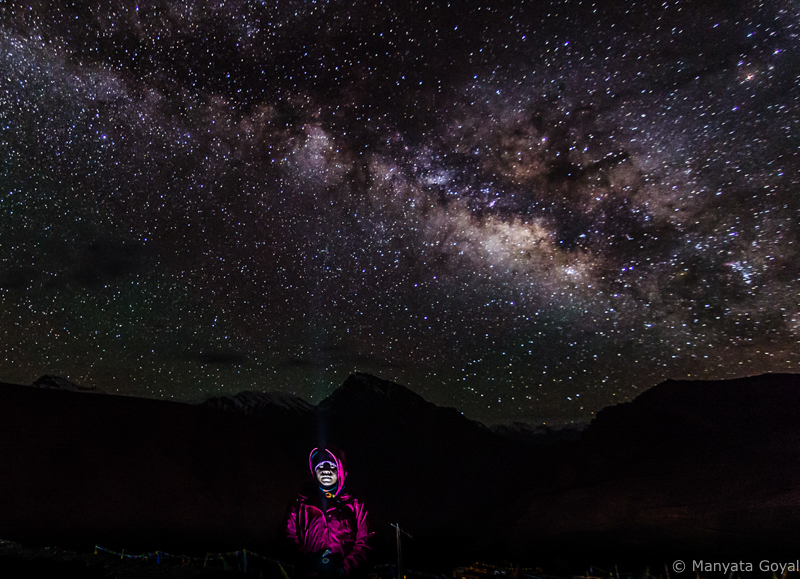 Under the milky way and billions of stars - A dream come true!