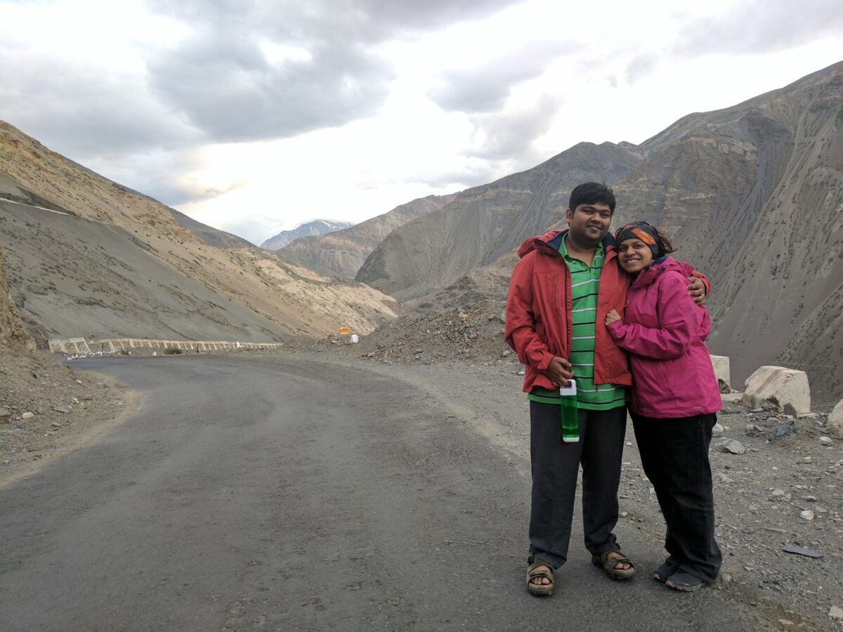 A puncture, A waterfall and the Milky way – Off the grid in Spiti