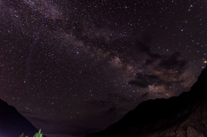 Our first sighting of the magical milky way!