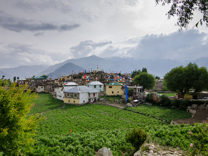 The farms of village of Nako!