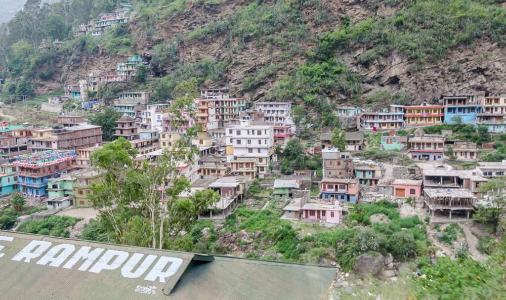 The village of Rampur!